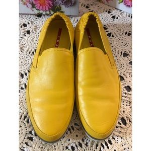 Prada Mens Leather Loafers